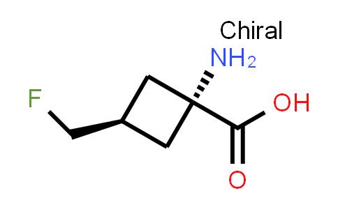 cis-1-Amino-3-(fluoromethyl)cyclobutanecarboxylic acid