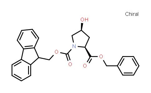 (2S,4S)-1-((9H-Fluoren-9-yl)methyl) 2-benzyl 4-hydroxypyrrolidine-1,2-dicarboxylate