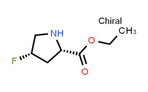 (2S,4S)-Ethyl 4-fluoropyrrolidine-2-carboxylate