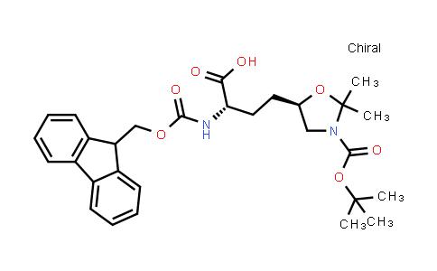 (S)-2-((((9H-Fluoren-9-yl)methoxy)carbonyl)amino)-4-((R)-3-(tert-butoxycarbonyl)-2,2-dimethyloxazolidin-5-yl)butanoic acid