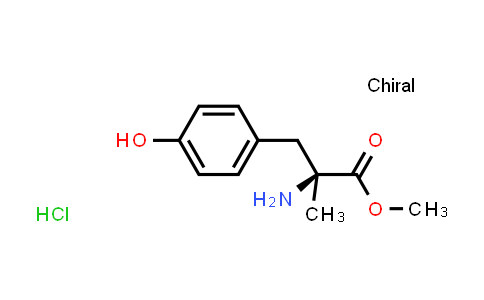 (S)-Methyl 2-amino-3-(4-hydroxyphenyl)-2-methylpropanoate hydrochloride