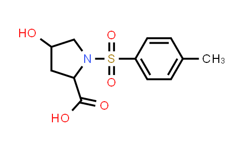 4-Hydroxy-1-tosylpyrrolidine-2-carboxylic acid