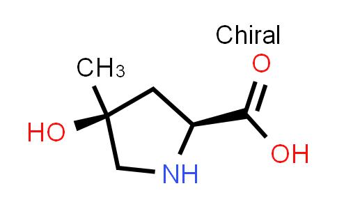 (2S,4S)-4-Hydroxy-4-methylpyrrolidine-2-carboxylic acid