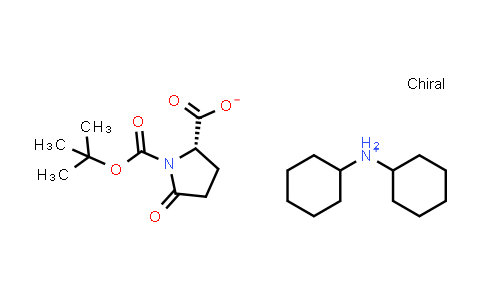 Dicyclohexylammonium (S)-1-(tert-butoxycarbonyl)-5-oxopyrrolidine-2-carboxylate