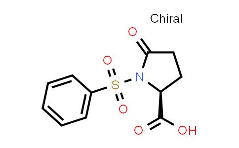(S)-5-Oxo-1-(phenylsulfonyl)pyrrolidine-2-carboxylic acid