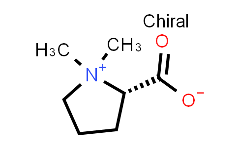 (S)-1,1-Dimethylpyrrolidin-1-ium-2-carboxylate