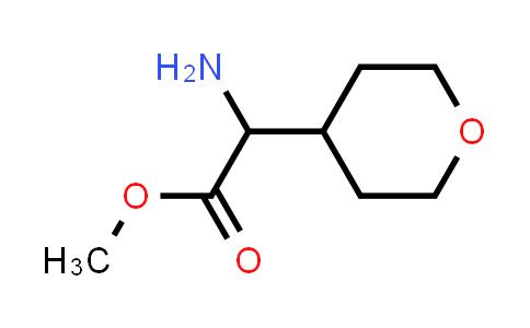 Methyl 2-amino-2-(tetrahydro-2H-pyran-4-yl)acetate
