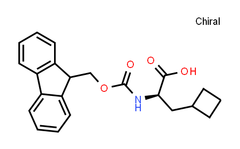 (R)-2-((((9H-Fluoren-9-yl)methoxy)carbonyl)amino)-3-cyclobutylpropanoic acid