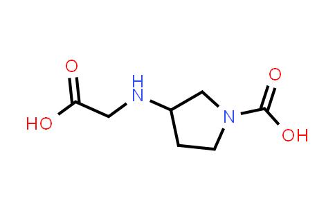 3-((Carboxymethyl)amino)pyrrolidine-1-carboxylic acid
