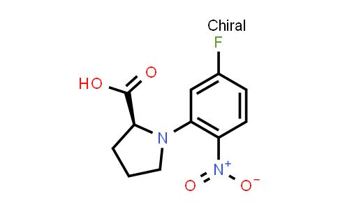 (S)-1-(5-Fluoro-2-nitrophenyl)pyrrolidine-2-carboxylic acid