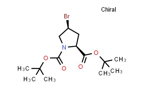 (2S,4S)-Di-tert-butyl 4-bromopyrrolidine-1,2-dicarboxylate