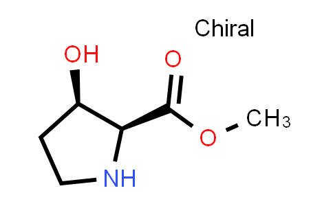 (2S,3R)-Methyl 3-hydroxypyrrolidine-2-carboxylate