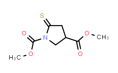 Dimethyl 5-thioxopyrrolidine-1,3-dicarboxylate