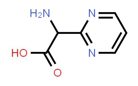 2-Amino-2-(pyrimidin-2-yl)acetic acid