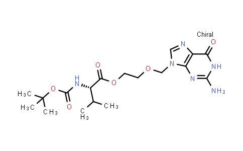 (S)-2-((2-Amino-6-oxo-1H-purin-9(6H)-yl)methoxy)ethyl 2-((tert-butoxycarbonyl)amino)-3-methylbutanoate