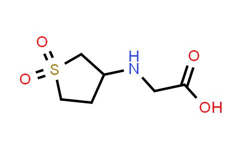 2-((1,1-Dioxidotetrahydrothiophen-3-yl)amino)acetic acid