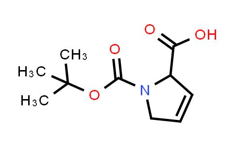 1-(tert-Butoxycarbonyl)-2,5-dihydro-1H-pyrrole-2-carboxylic acid