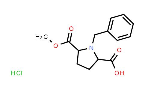 1-Benzyl-5-(methoxycarbonyl)pyrrolidine-2-carboxylic acid hydrochloride