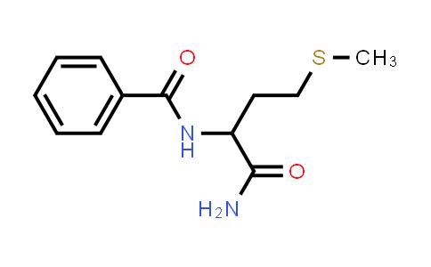 N-(1-Amino-4-(methylthio)-1-oxobutan-2-yl)benzamide