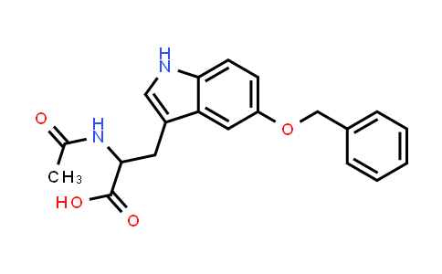2-Acetamido-3-(5-(benzyloxy)-1H-indol-3-yl)propanoic acid