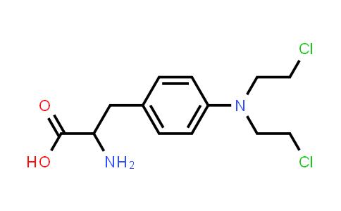 2-Amino-3-(4-(bis(2-chloroethyl)amino)phenyl)propanoic acid