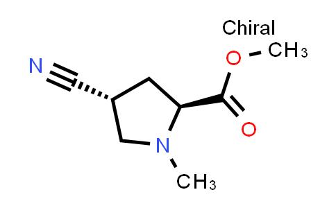 (2S,4R)-Methyl 4-cyano-1-methylpyrrolidine-2-carboxylate