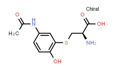 (R)-3-((5-Acetamido-2-hydroxyphenyl)thio)-2-aminopropanoic acid