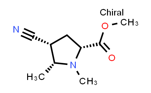 (2R,4R,5R)-Methyl 4-cyano-1,5-dimethylpyrrolidine-2-carboxylate
