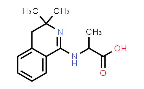 2-((3,3-Dimethyl-3,4-dihydroisoquinolin-1-yl)amino)propanoic acid