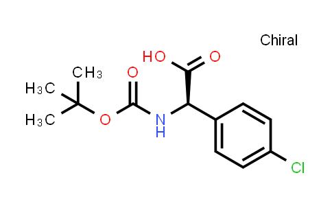 Boc-D-Phg(4-Cl)-OH