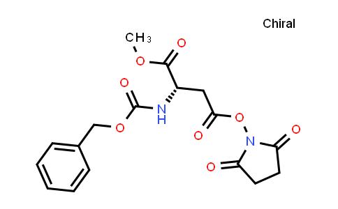 (S)-4-(2,5-Dioxopyrrolidin-1-yl) 1-methyl 2-(((benzyloxy)carbonyl)amino)succinate