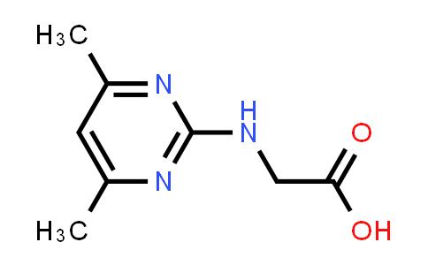 2-((4,6-Dimethylpyrimidin-2-yl)amino)acetic acid