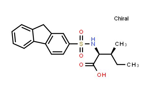 (2S,3S)-2-(9H-Fluorene-2-sulfonamido)-3-methylpentanoic acid