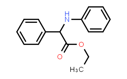 Ethyl 2-phenyl-2-(phenylamino)acetate