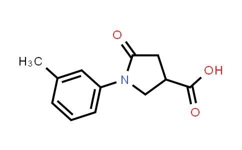 5-Oxo-1-(m-tolyl)pyrrolidine-3-carboxylic acid