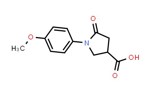 1-(4-Methoxyphenyl)-5-oxopyrrolidine-3-carboxylic acid