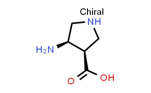 (3R,4R)-4-Aminopyrrolidine-3-carboxylic acid