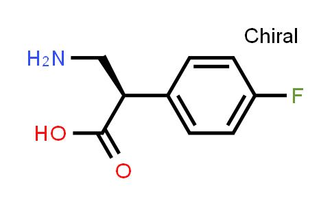 (R)-3-Amino-2-(4-fluorophenyl)propanoic acid