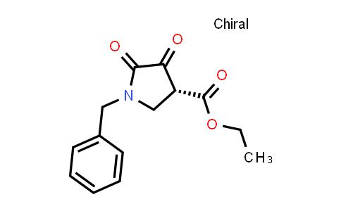 (R)-Ethyl 1-benzyl-4,5-dioxopyrrolidine-3-carboxylate