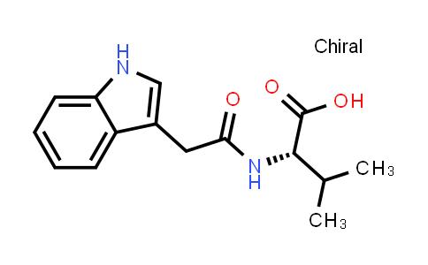 (S)-2-(2-(1H-Indol-3-yl)acetamido)-3-methylbutanoic acid