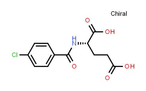 (S)-2-(4-Chlorobenzamido)pentanedioic acid