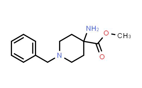 Methyl 4-amino-1-benzylpiperidine-4-carboxylate