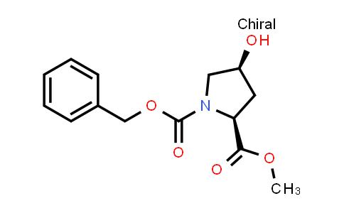 (2S,4S)-1-Benzyl 2-methyl 4-hydroxypyrrolidine-1,2-dicarboxylate