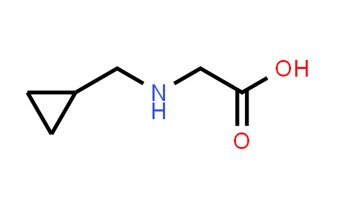 2-((cyclopropylmethyl)amino)acetic acid