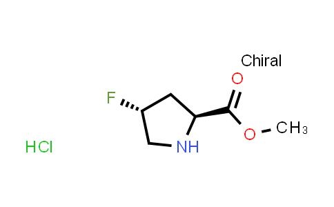 (2S,4R)-Methyl 4-fluoropyrrolidine-2-carboxylate hydrochloride