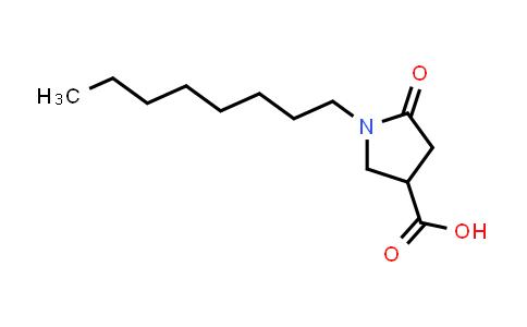 1-Octyl-5-oxopyrrolidine-3-carboxylic acid