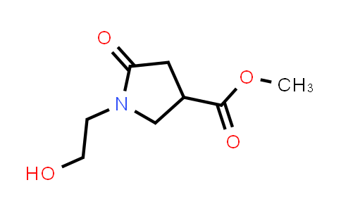 Methyl 1-(2-hydroxyethyl)-5-oxopyrrolidine-3-carboxylate