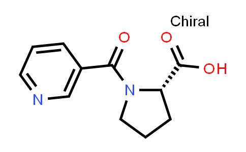 (S)-1-Nicotinoylpyrrolidine-2-carboxylic acid