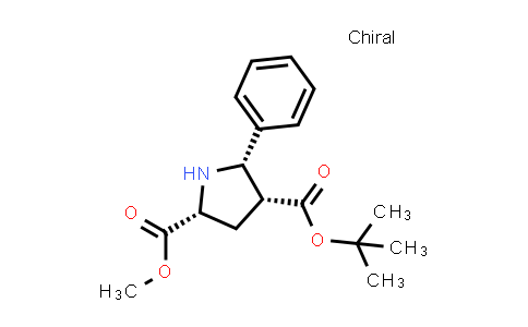 (2R,4R,5S)-4-tert-Butyl 2-methyl 5-phenylpyrrolidine-2,4-dicarboxylate