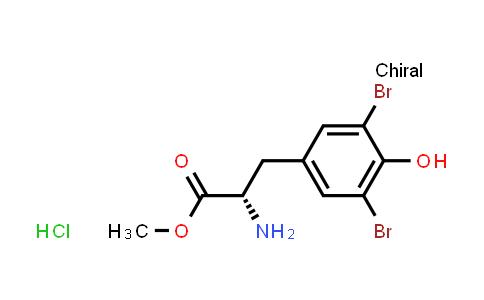 (S)-Methyl 2-amino-3-(3,5-dibromo-4-hydroxyphenyl)propanoate hydrochloride